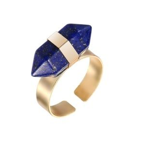 Blue Standstone Ring